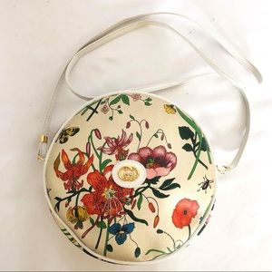 Gucci Vintage Flora Insects Crossbody Bag